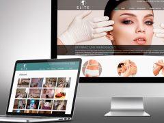 Strona www dla gabinetu kosmetycznego