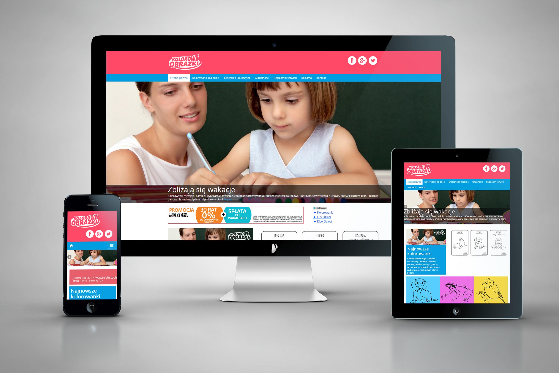 Kolorowe-obrazki-pl - Kolorowanki dla dzieci. Nowa strona www