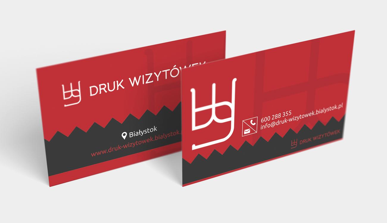 Projekt wizytówki Białystok